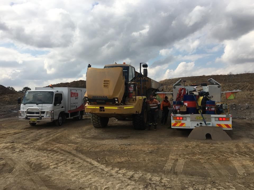 Mobile Hydraulic Pump Repairs Sydney