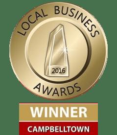 Local Business Awards Winner Campbelltown