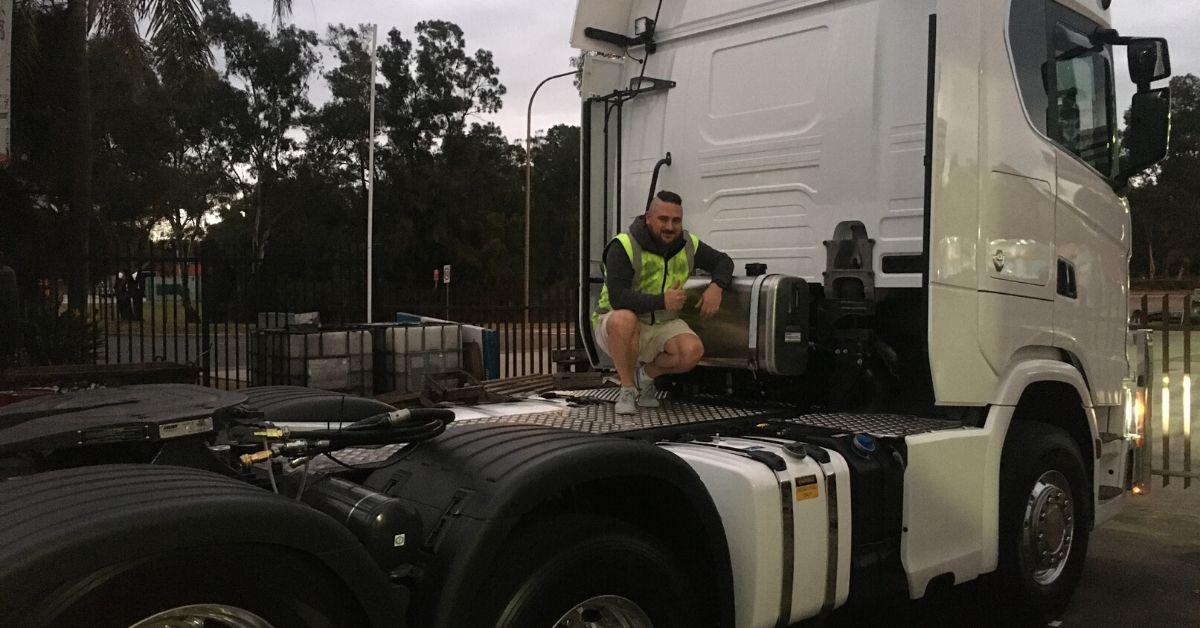 Ryco 24/7's Scania V8 Full Hydraulic Setup Royal Treatment in Sydney